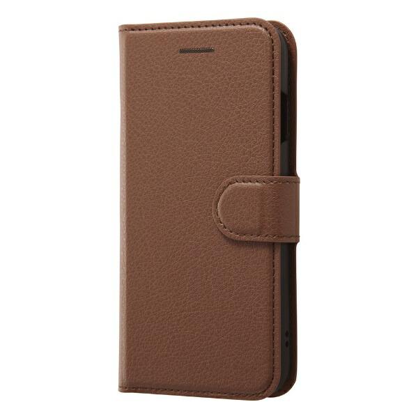 レイアウトrayoutiPhoneSE(第2世代)4.7インチ/8/7手帳シンプルマグネットRT-P24ELC1/DKブラウン