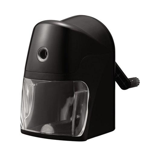 クツワKUTSUWAスーパー安全えんぴつけずり(ブラック)RS025BK