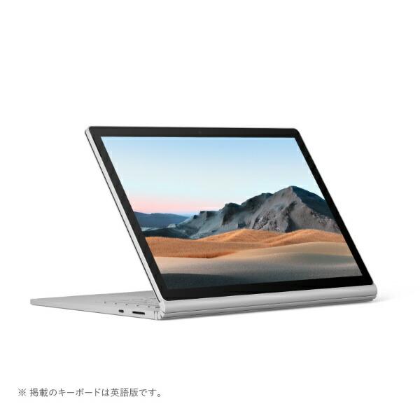 マイクロソフトMicrosoftSurfaceBook3[13.5型/SSD256GB/メモリ8GB/Intelcorei5/プラチナ/2020年]V6F-00018ノートパソコン[13.5インチoffice付き新品windows10]