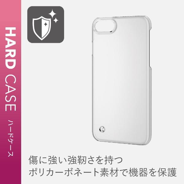 エレコムELECOMiPhoneSE(第2世代)4.7インチ対応ハードケースストラップホール付クリアPM-A19APVSTCR