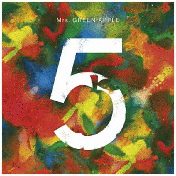 ユニバーサルミュージックMrs.GREENAPPLE/5COMPLETEBOX完全生産限定盤【CD】