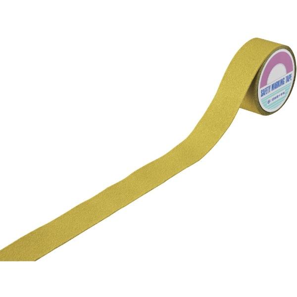 日本緑十字JAPANGREENCROSS緑十字滑り止めラインテープ黄50mm幅×5mアルミ+鉱物粒子屋外用260153
