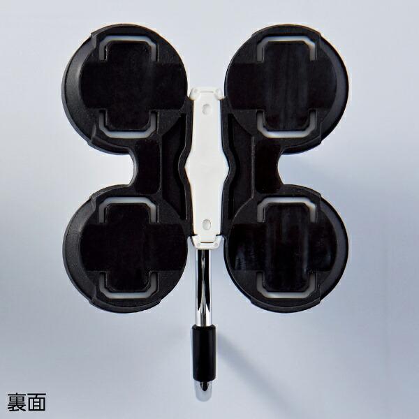 日本緑十字JAPANGREENCROSS緑十字3Dマグネットフック黒90×65mm耐荷重12.5kg曲面設置可能タイプ313013