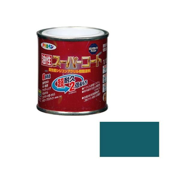 アサヒペンアサヒペン油性スーパーコート1/12Lオーシャンブルー