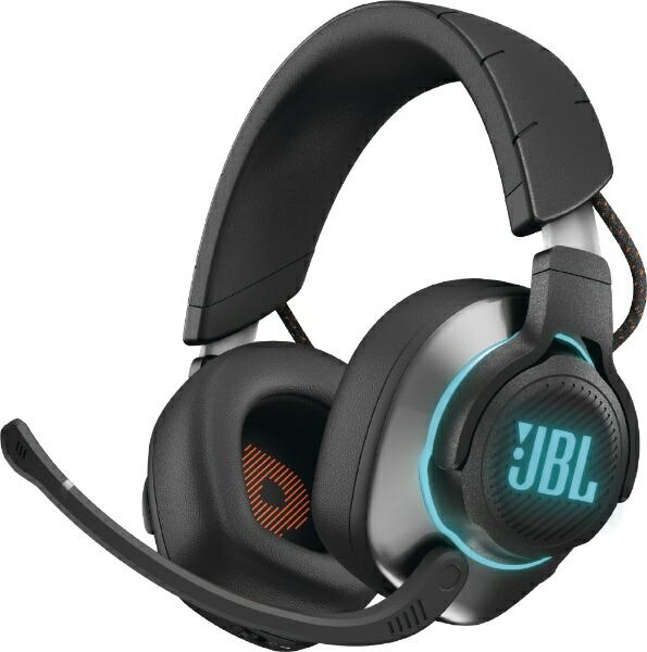 JBLジェイビーエルゲーミングヘッドセットQuantum800ブラック[ワイヤレス(Bluetooth)+有線/両耳/ヘッドバンドタイプ]