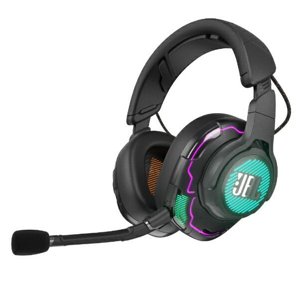 JBLジェイビーエルゲーミングヘッドセットQuantumONEブラック[φ3.5mmミニプラグ+USB/両耳/ヘッドバンドタイプ]
