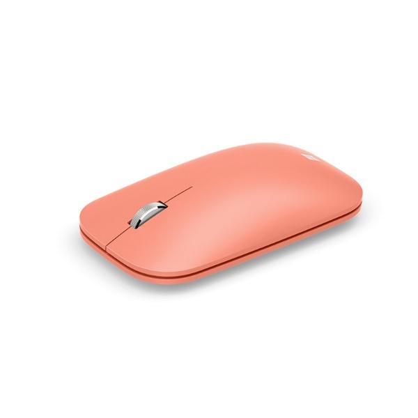 マイクロソフトMicrosoftKTF-00046マウスModernMobileMouseピーチ[BlueLED/無線(ワイヤレス)/3ボタン/Bluetooth]【rb_mouse_cpn】