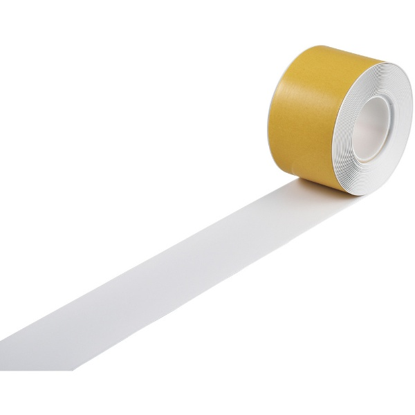 日本緑十字JAPANGREENCROSS緑十字高耐久ラインテープ白100mm幅×10m両端テーパー構造屋内用403081