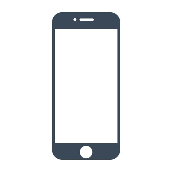 HAMEEハミィ[iPhone8/7/6s/6専用]iFaceRoundEdgeColorGlassScreenProtectorラウンドエッジ強化ガラス液晶保護シートiFaceReflection/ネイビー41-890226