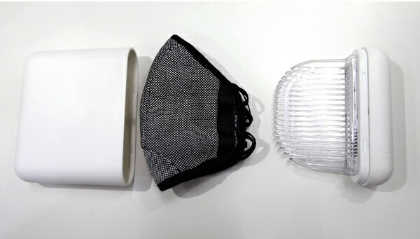 MEDIKメディクマスク除菌ケースホワイトMDK-M02[MDKM02]