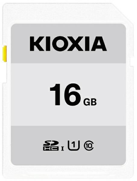 KIOXIAキオクシアSDHCカードUHS-IEXCERIABASICKSDB-A016G[16GB/Class10]