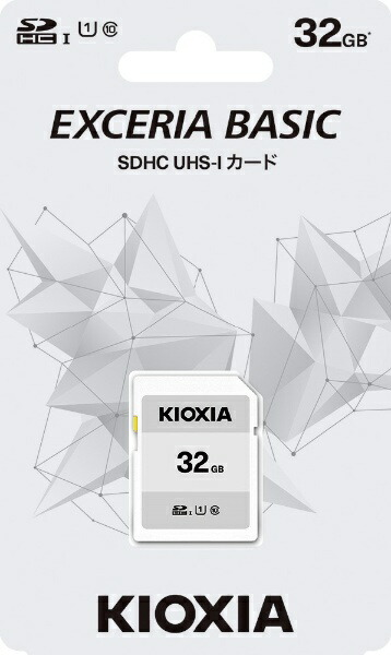 KIOXIAキオクシアSDHCカードUHS-IEXCERIABASICKSDB-A032G[32GB/Class10]