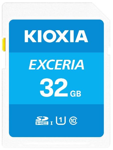 KIOXIAキオクシアSDHCカードUHS-IEXCERIAKSDU-A032G[32GB/Class10]
