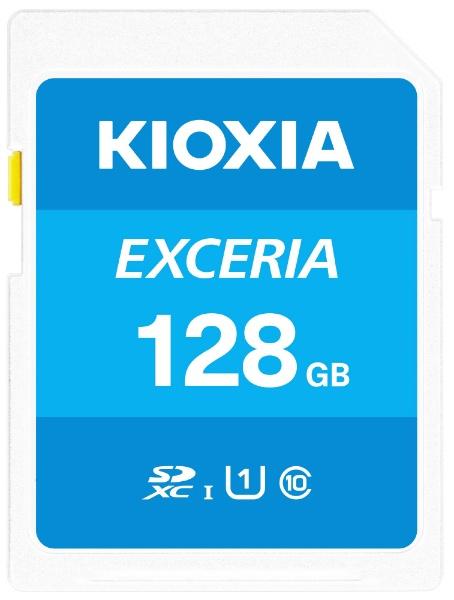 KIOXIAキオクシアSDXCカードUHS-IEXCERIAKSDU-A128G[128GB/Class10]