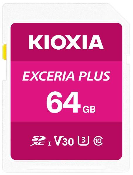 KIOXIAキオクシアSDXCカードUHS-IEXCERIAPLUSKSDH-A064G[64GB/Class10]
