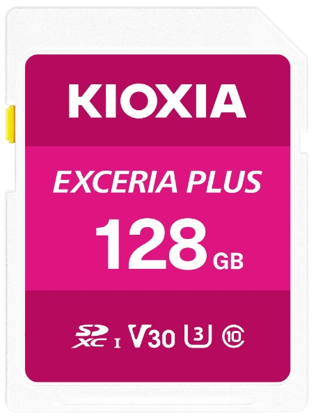 KIOXIAキオクシアSDXCカードUHS-IEXCERIAPLUSKSDH-A128G[128GB/Class10]