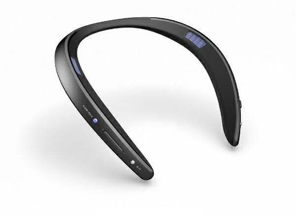シャープSHARPネックスピーカーAQUOSサウンドパートナーブラックAN-SS2-B[Bluetooth対応/防水]
