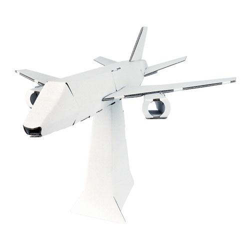シヤチハタShachihataダンボール工作キット飛行機THM-SH2313A