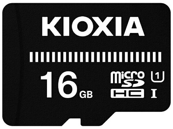 KIOXIAキオクシアmicroSDHCカードUHS-IEXCERIABASICKMUB-A016G[16GB/Class10]