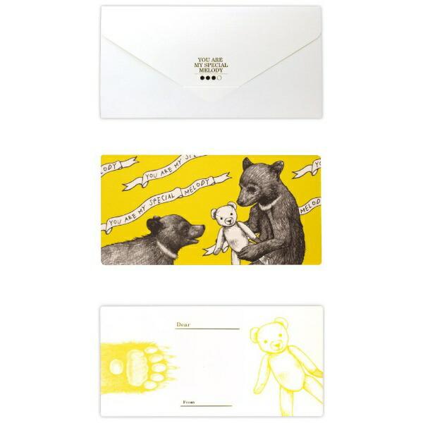 山桜YAMAZAKURAD[di:]cashico長方形カード・タトウ熊白351400