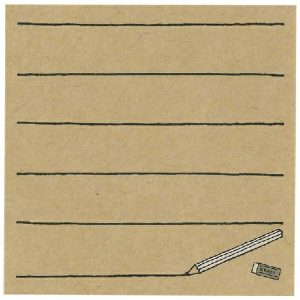 山桜YAMAZAKURA付箋70×70鉛筆ノート70001952