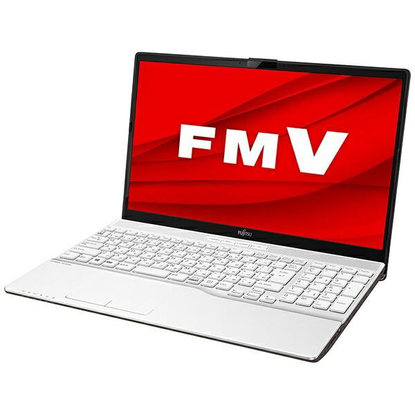 富士通FUJITSUFMVA50E1WノートパソコンFMVLIFEBOOKAH50/E1プレミアムホワイト[15.6型/AMDRyzen7/SSD:256GB/メモリ:8GB/2020年6月モデル][15.6インチoffice付き新品windows10]