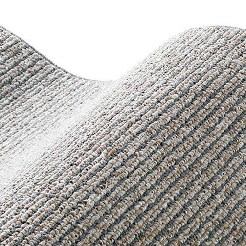 スミノエSUMINOEラグカルル(185×240cm/軽量/ウォッシャブル/床暖対応/グレー)【日本製】