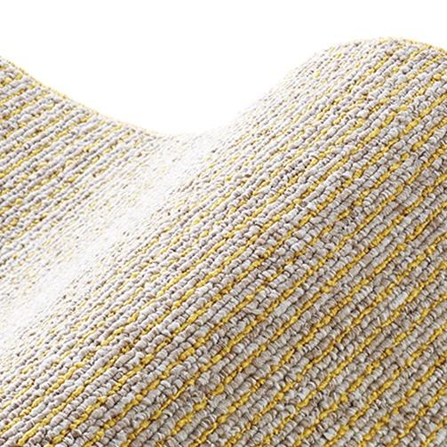 スミノエSUMINOEラグカルル(185×240cm/軽量/ウォッシャブル/床暖対応/マスタード)【日本製】