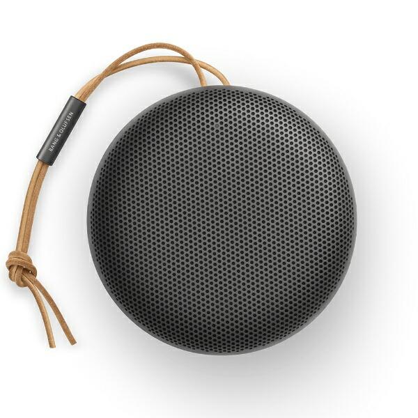 Bang&Olufsenバング&オルフセンブルートゥーススピーカーBEOSOUND-A1-2NDGEN-BLACKブラック[Bluetooth対応/防滴]
