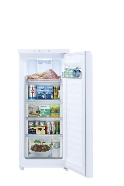 AQUAアクアファン式冷凍庫クリスタルホワイトAQF-GS13J-W[1ドア/右開きタイプ/134L]