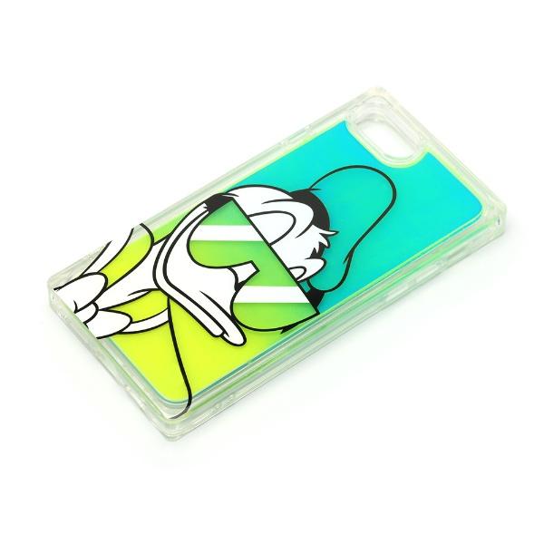 PGAiPhoneSE(第2世代)/8/7/6s/6用ネオンサンドケースドナルドダックPG-DLQ20M12DND