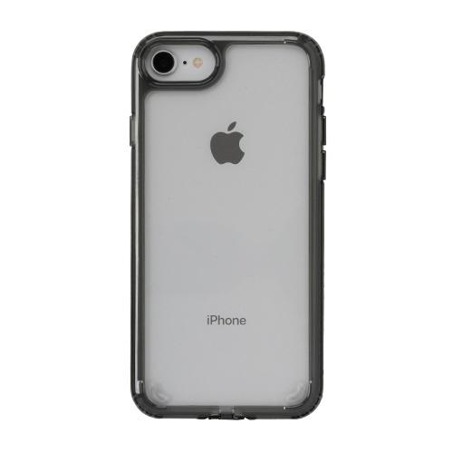 HAMEEハミィ[iPhoneSE2020/8/7専用]PATCHWORKSLUMINAケース41-902479クリアブラック