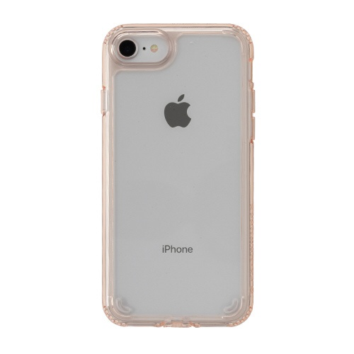 HAMEEハミィ[iPhoneSE2020/8/7専用]PATCHWORKSLUMINAケース41-902486クリアピンク