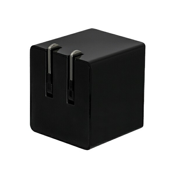 OWLTECHオウルテックPD対応USBType-C1ポート搭載のACアダプターPowerDelivery対応最大出力30WブラックOWL-APD30C1-BK