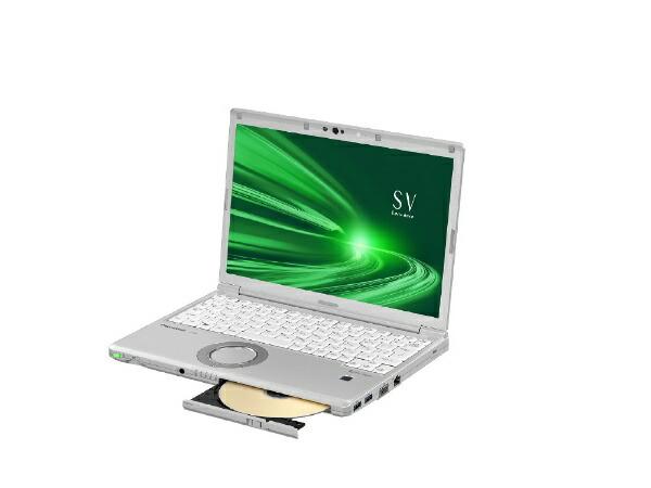 パナソニックPanasonicCF-SV9HDSQRノートパソコンレッツノートSVシリーズシルバー[12.1型/intelCorei5/SSD:256GB/メモリ:8GB/2020年6月モデル]