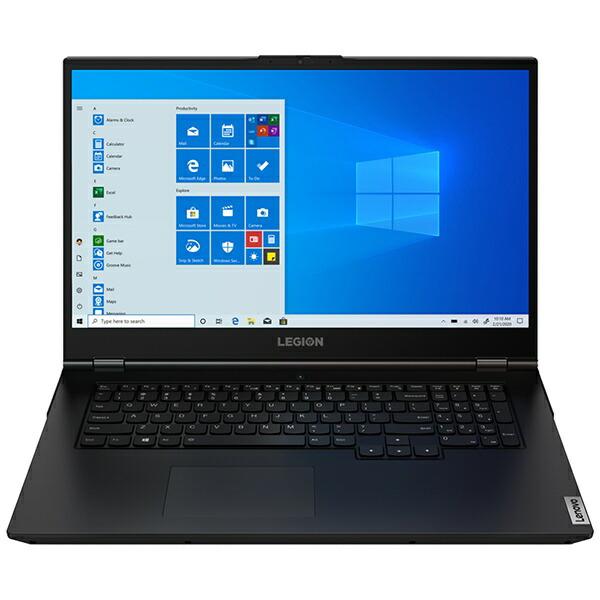 レノボジャパンLenovoゲーミングノートパソコンLegion550iファントムブラック81Y80031JP[17.3型/intelCorei7/メモリ:16GB/SSD:1TB/2020年7月モデル]