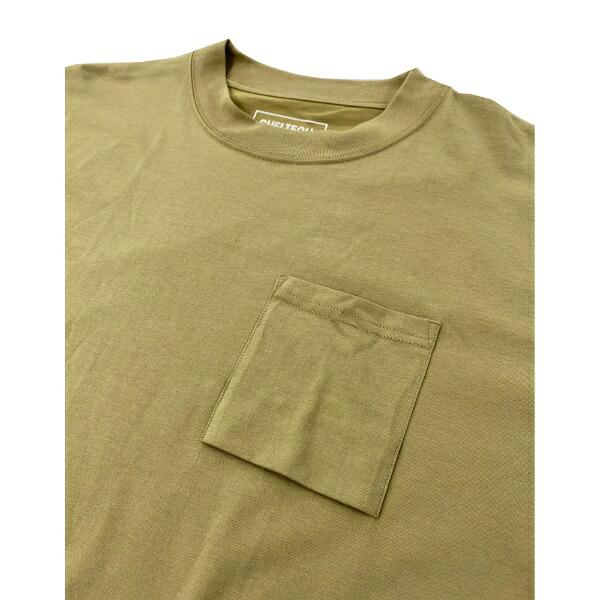 SHELTECHシェルテックメンズワイドポケットTシャツ(Mサイズ/ベージュ)SL-002