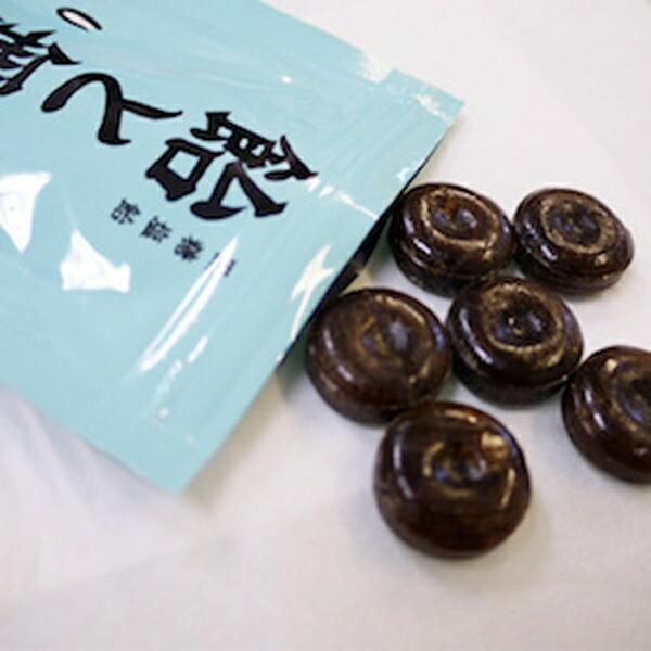 ZENゼン飴と無智あめとむち(40g/黒糖塩飴)180714