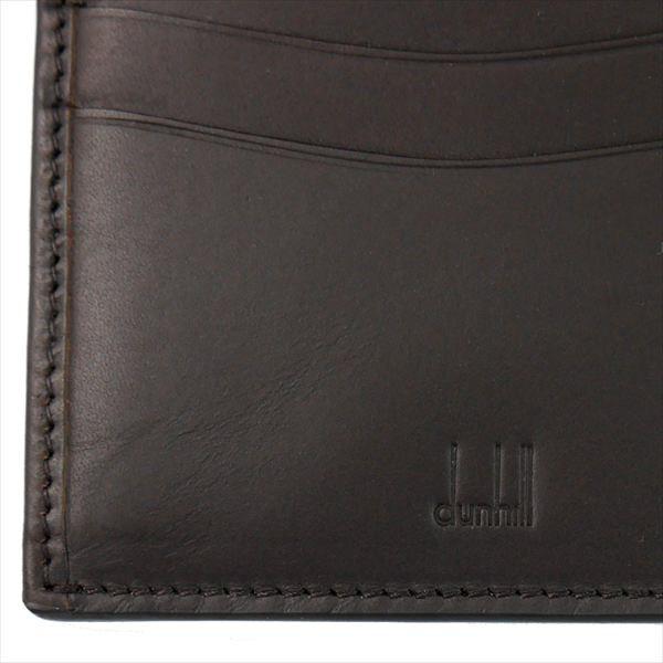 ダンヒルdunhill【正規代理店品】Dunhill(ダンヒル)長財布CHASSISカーボンブラックL2H210A