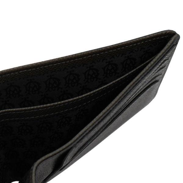 ダンヒルdunhill【正規代理店品】Dunhill(ダンヒル)二つ折り財布BOURDONダークグレーL2M130Z