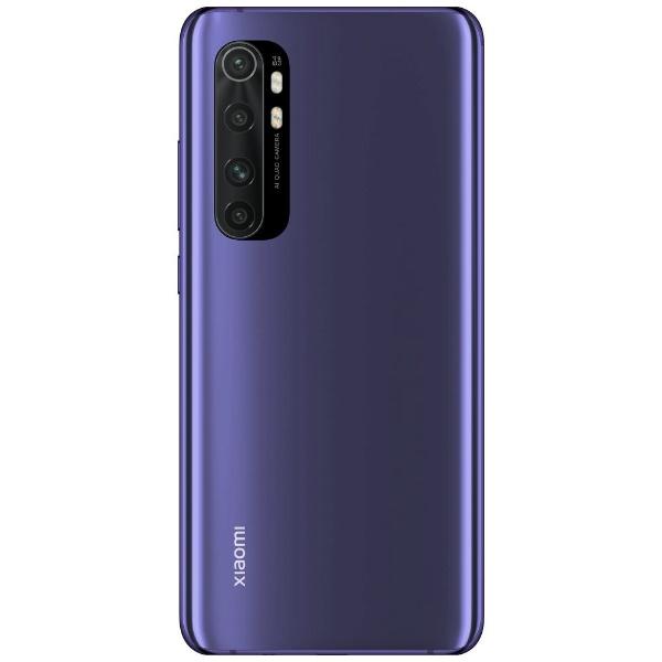 XiaomiシャオミXiaomiMiNote10LiteネビュラパープルSnapdragon7306.47型・メモリ/ストレージ:6GB/128GBnanoSIMx2ドコモ/au/ソフトバンクSIM対応SIMフリースマートフォン[simフリースマホ本体新品]