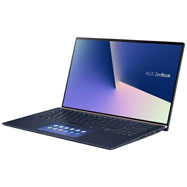 ASUSエイスースUX534FTC-A9320TSノートパソコンZenBook15ロイヤルブルー[15.6型/intelCorei7/SSD:1TB/メモリ:16GB/2020年6月モデル]