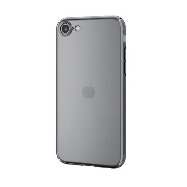 エレコムELECOMiPhoneSE第2世代ハードケース超極みブラックPMCA19APVKKBK