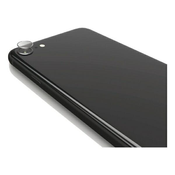 エレコムELECOMiPhoneSE第2世代カメラレンズ保護フィルムガラスコート衝撃吸収PM-A19AFLLNGLP