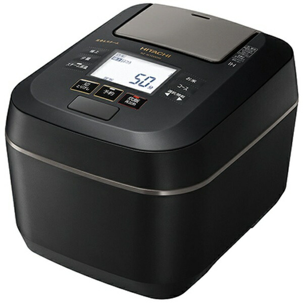 日立HITACHI炊飯器フロストブラックRZ-W100DM-K[圧力IH/5.5合]