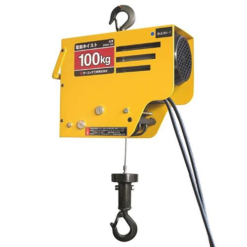 オーエッチ工業OH電動ワイヤーホイスト100DWH-100
