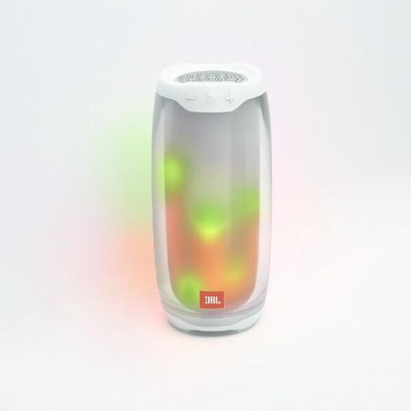 JBLジェイビーエルブルートゥーススピーカーホワイトJBLPULSE4WHT[Bluetooth対応]