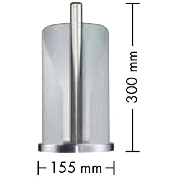 Wescoウェスコロールペーパーホルダーターコイズ322104-54
