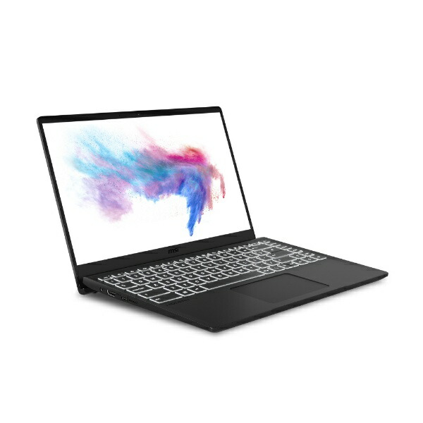 MSIエムエスアイModern-14-B10RASW-003JPゲーミングノートパソコンMODERN14オニキスブラック[14.0型/intelCorei7/SSD:512GB/メモリ:16GB/2020年6月モデル]