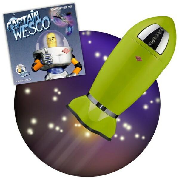 Wescoウェスコスペースロケットビン&メタルライナー35LSPACEBOYホワイト138631-01